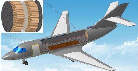 而加入隔音材料来降低噪音会导致飞机重量增加