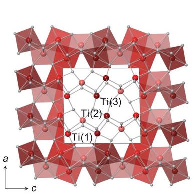 三钛的晶体结构